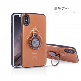 热点新款简约时尚Iphone x手机壳 苹果x 带车载磁吸功能