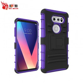 Factory direct supply tpu pc back case cover for lg v30