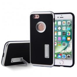 热点 iphone7碳纤维支架保护套 手机壳批发工厂