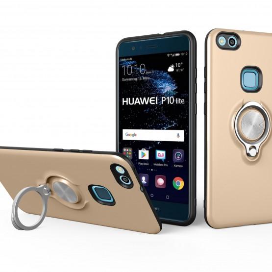 热点新款Huiwei P10lite 2017手机壳   华为P10lite 2017带车载磁吸功能